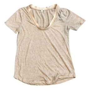 J. Crew Ribbon Trim T-Shirt